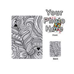 Zentangle Art Patterns Playing Cards 54 (Mini)