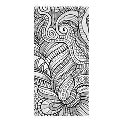 Zentangle Art Patterns Shower Curtain 36  x 72  (Stall)