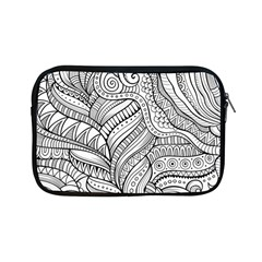 Zentangle Art Patterns Apple iPad Mini Zipper Cases