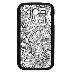 Zentangle Art Patterns Samsung Galaxy Grand DUOS I9082 Case (Black)