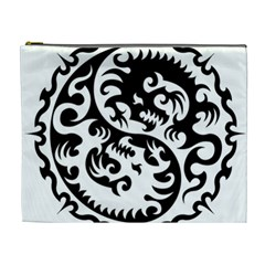 Ying Yang Tattoo Cosmetic Bag (XL)
