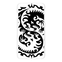 Ying Yang Tattoo Apple Seamless iPhone 6 Plus/6S Plus Case (Transparent)