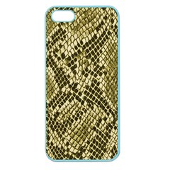 Yellow Snake Skin Pattern Apple Seamless iPhone 5 Case (Color)