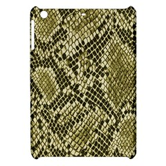 Yellow Snake Skin Pattern Apple iPad Mini Hardshell Case