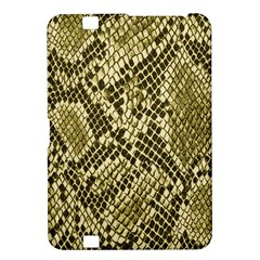Yellow Snake Skin Pattern Kindle Fire HD 8.9