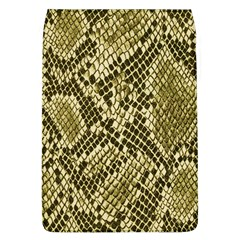 Yellow Snake Skin Pattern Flap Covers (L)