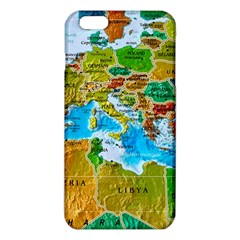 World Map iPhone 6 Plus/6S Plus TPU Case