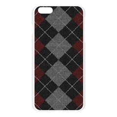 Wool Texture With Great Pattern Apple Seamless iPhone 6 Plus/6S Plus Case (Transparent)