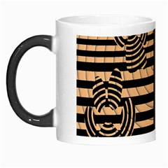 Wooden Pause Play Paws Abstract Oparton Line Roulette Spin Morph Mugs