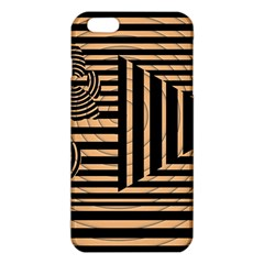 Wooden Pause Play Paws Abstract Oparton Line Roulette Spin iPhone 6 Plus/6S Plus TPU Case