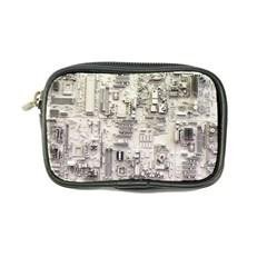 White Technology Circuit Board Electronic Computer Coin Purse