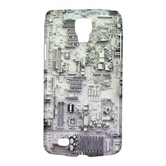 White Technology Circuit Board Electronic Computer Galaxy S4 Active