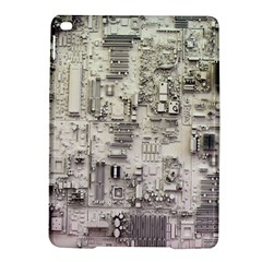White Technology Circuit Board Electronic Computer iPad Air 2 Hardshell Cases