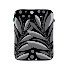 Gray plant design Apple iPad 2/3/4 Protective Soft Cases
