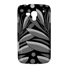 Gray plant design Samsung Galaxy Duos I8262 Hardshell Case