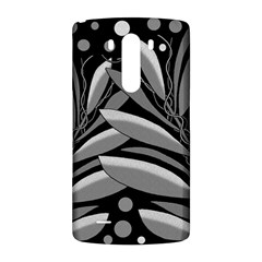 Gray plant design LG G3 Back Case