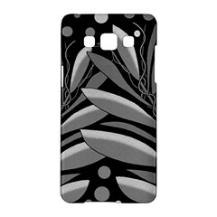Gray plant design Samsung Galaxy A5 Hardshell Case