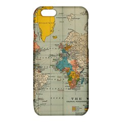 Vintage World Map iPhone 6/6S TPU Case