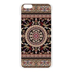 Vectorized Traditional Rug Style Of Traditional Patterns Apple Seamless iPhone 6 Plus/6S Plus Case (Transparent)