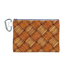 Vector Square Texture Pattern Canvas Cosmetic Bag (M)