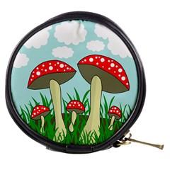 Mushrooms  Mini Makeup Bags