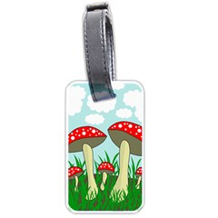 Mushrooms  Luggage Tags (One Side)