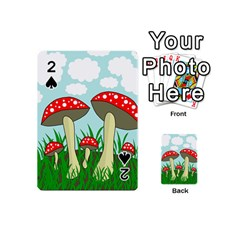 Mushrooms  Playing Cards 54 (Mini)