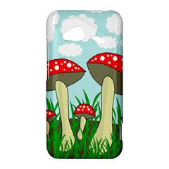 Mushrooms  HTC Droid Incredible 4G LTE Hardshell Case