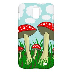 Mushrooms  Samsung Galaxy S II Skyrocket Hardshell Case