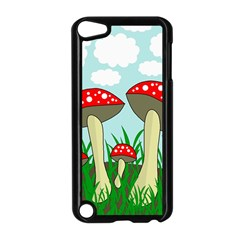 Mushrooms  Apple iPod Touch 5 Case (Black)