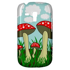 Mushrooms  Samsung Galaxy S3 MINI I8190 Hardshell Case