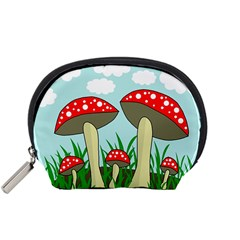 Mushrooms  Accessory Pouches (Small)