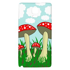 Mushrooms  Galaxy Note 4 Back Case