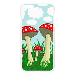 Mushrooms  Apple Seamless iPhone 6 Plus/6S Plus Case (Transparent)