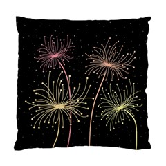 Elegant dandelions  Standard Cushion Case (Two Sides)