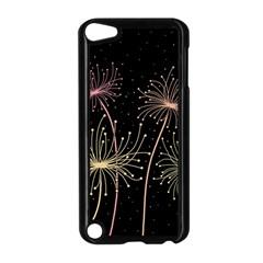 Elegant dandelions  Apple iPod Touch 5 Case (Black)