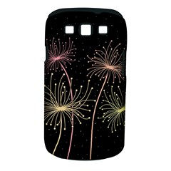 Elegant dandelions  Samsung Galaxy S III Classic Hardshell Case (PC+Silicone)