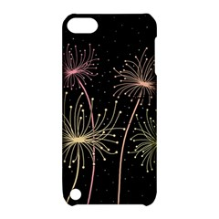 Elegant dandelions  Apple iPod Touch 5 Hardshell Case with Stand