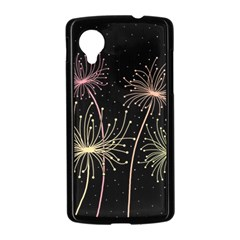 Elegant dandelions  Nexus 5 Case (Black)