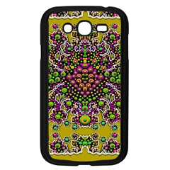 Fantasy Flower Peacock With Some Soul In Popart Samsung Galaxy Grand Duos I9082 Case (black)