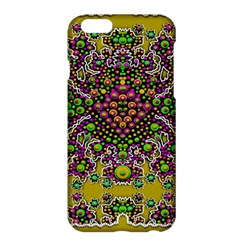 Fantasy Flower Peacock With Some Soul In Popart Apple Iphone 6 Plus/6s Plus Hardshell Case