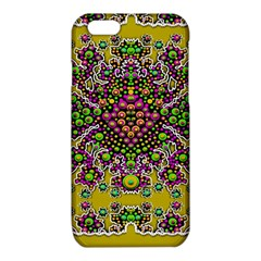 Fantasy Flower Peacock With Some Soul In Popart iPhone 6/6S TPU Case