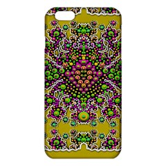 Fantasy Flower Peacock With Some Soul In Popart iPhone 6 Plus/6S Plus TPU Case