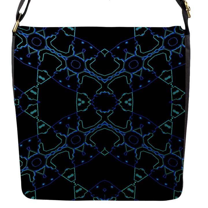 HUM DING Flap Messenger Bag (S)
