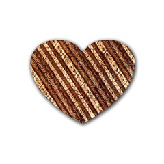 Udan Liris Batik Pattern Heart Coaster (4 pack)