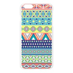Tribal Print Apple Seamless iPhone 6 Plus/6S Plus Case (Transparent)