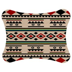Tribal Pattern Jigsaw Puzzle Photo Stand (Bow)