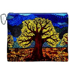 Tree Of Life Canvas Cosmetic Bag (XXXL)