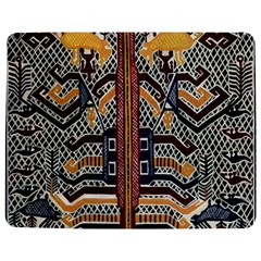 Traditional Batik Indonesia Pattern Jigsaw Puzzle Photo Stand (Rectangular)