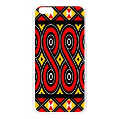 Toraja Traditional Art Pattern Apple Seamless iPhone 6 Plus/6S Plus Case (Transparent)